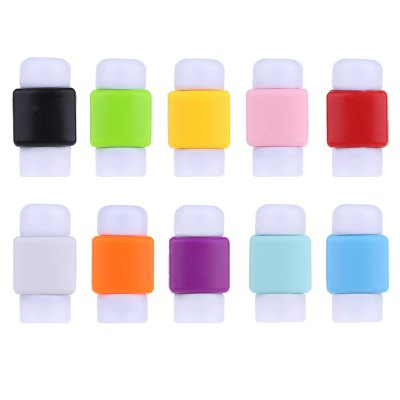 Soft Silicone Data Line Protection Cover for iPhone