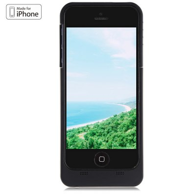 Maxnon M5 MFI 2200mAh Extra Battery Charge Case for iPhone 5 / 5S / SE