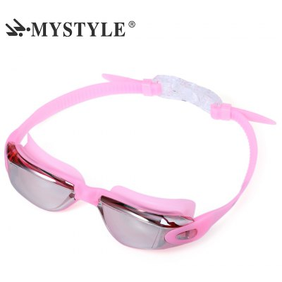 MYSTYLE Coating Mirrored Water Resistance Swimming Goggles