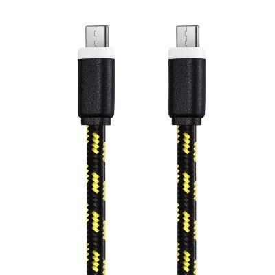 2M Type C to Type C Type-C Sync Data CableChargers &amp; Cables<br>2M Type C to Type C Type-C Sync Data Cable<br><br>Color: Black,Blue,Green,Orange,Purple,Red,White,Yellow<br>Length: 2M<br>Package Contents: 1 x 2M Type-C to Type-C Nylon Braided Charge and Data Transfer Cable<br>Package Size(L x W x H): 10.00 x 4.00 x 2.50 cm / 3.94 x 1.57 x 0.98 inches<br>Package weight: 0.050 kg<br>Product weight: 0.039 kg<br>Type: Type C