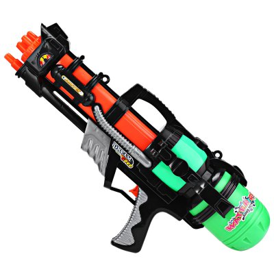 Children Water Pistol Toy Large Outdoor GamesOutdoor Fun &amp; Sports<br>Children Water Pistol Toy Large Outdoor Games<br><br>Age Range: &gt; 6 years old<br>Color: Black<br>Features: Mini<br>Gender: Unisex<br>Material: Plastic<br>Package Contents: 1 x Water Gun<br>Package Size(L x W x H): 58.00 x 28.00 x 12.00 cm / 22.83 x 11.02 x 4.72 inches<br>Package weight: 0.606 kg<br>Product weight: 0.576 kg<br>Type: Water Gun