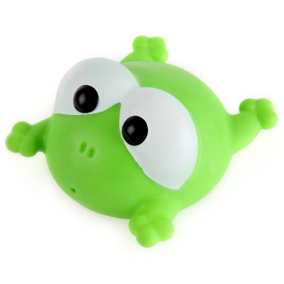 5Pcs Lovely Water Spray Float Squeaky Squeeze Sound Animal Baby Bath Toy