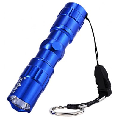 SKYWOLFEYE 508 Mini Aluminum Alloy LED Flashlight Torch