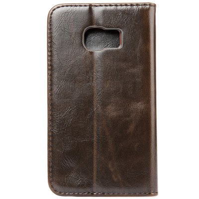ФОТО Luxury Series Magnetic Flip PU Leather Wallet Cover for Samsung S6