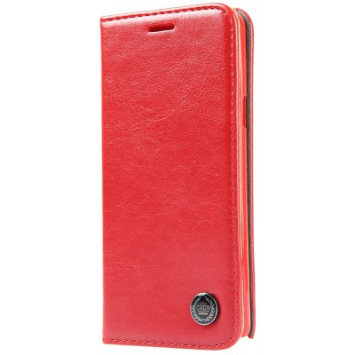 Luxury Series Magnetic Flip PU Leather Wallet Cover