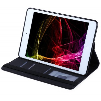360 Degrees Rotating Stand Case Smart Coverfor iPad Mini 1 / 2 / 3