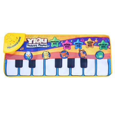 Baby Piano Music Game Mats Play Crawling Toy
