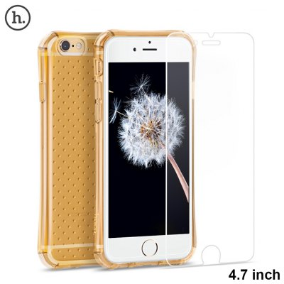 HOCO Armor Explosion-proof Phone Case with High Definition Screen Protective Film for iPhone 6 / 6S