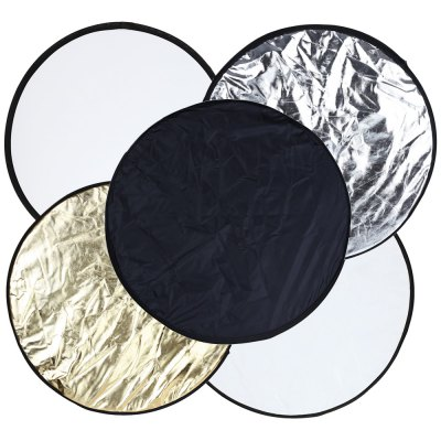 43 inch 5 in 1 Collapsible Portable Multi-disc Photography Lighting Reflector
