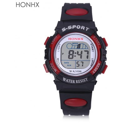 HONHX D55 - 63 LED Digital Sport Watch