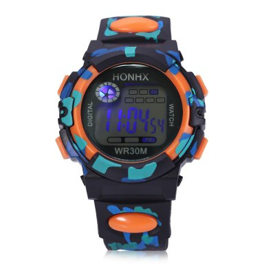 HONHX T62 LED Digital Military Watch