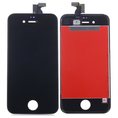 Replacement LCD Screen Assembly + Touch Glass Digitizer Phone Repair Tool Set for iPhone 4