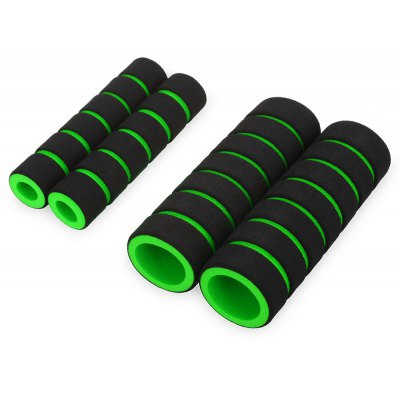One Pair Nonslip Soft Foam Mountain Bike Handle Bar Grips Cover