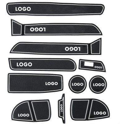 11pcs Gate Slot Pad with Long Wheelbase for BMW 3 Series