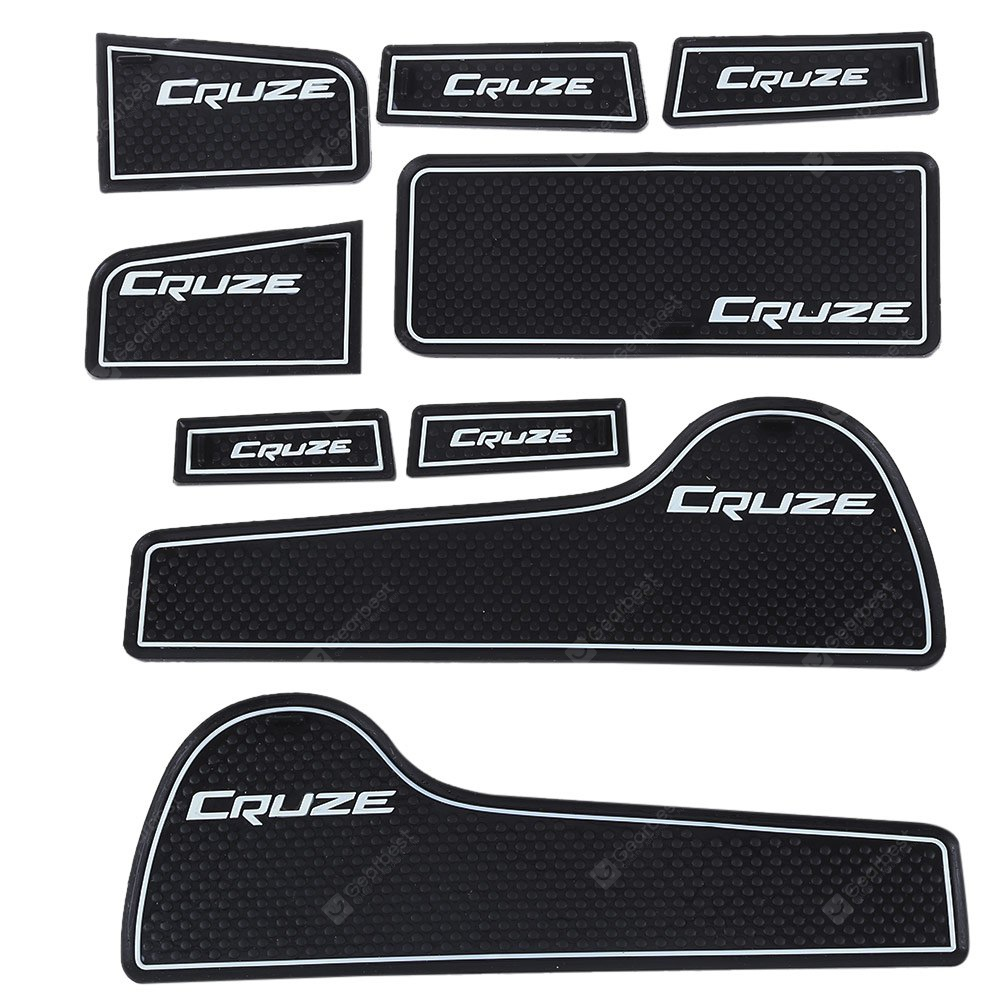 9pcs Car Gate Slot Pad Chevrolet Cruze