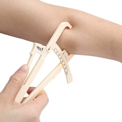 Personal Body Fat Caliper Measuring Tester