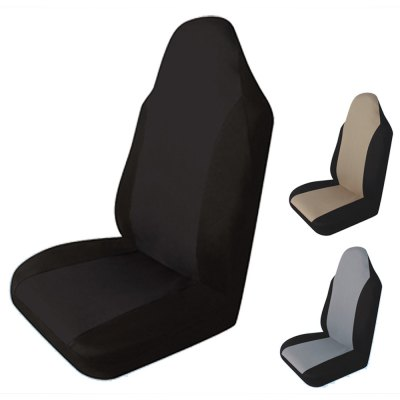 T21554BK Single Piece Car Front Seat Cover