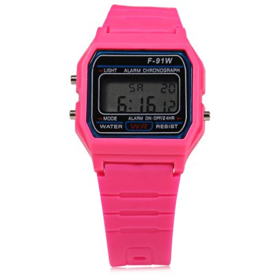 HONHX 91W  LED Sports Unisex Children Digital Watch