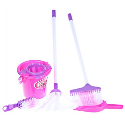 Cute Pink Housekeeping Play Kits Toy