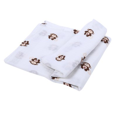 Soft Breathable Printed Newborn Infant Babies Swaddling BlanketSoft Breathable Printed Newborn Infant Babies Swaddling Blanket<br><br>Suitable Age: 0-6 years old<br>Materials: Cotton<br>Shape/Pattern: Animal<br>Product weight: 0.110 kg<br>Package weight: 0.139 kg<br>Product size (L x W x H): 108.00 x 106.00 x 0.30 cm / 42.52 x 41.73 x 0.12 inches<br>Package size (L x W x H): 28.00 x 20.00 x 1.50 cm / 11.02 x 7.87 x 0.59 inches<br>Package Content: 1 x Swaddling Blanket