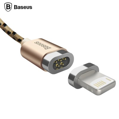 Baseus Seek Series Magnetic Cable 1M Nylon Data Line with Adapter for iPhone