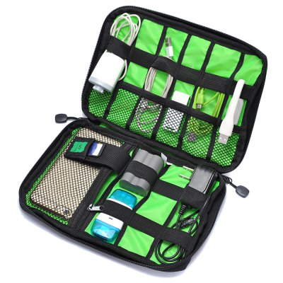 Digital Accessories Storage Pouch Case Travel Organizer BagOther Cell Phone Accessories<br>Digital Accessories Storage Pouch Case Travel Organizer Bag<br><br>Package Contents: 1 x Storage Bag<br>Package Size(L x W x H): 25.00 x 18.00 x 3.00 cm / 9.84 x 7.09 x 1.18 inches<br>Package weight: 0.1200 kg<br>Product Size(L x W x H): 22.60 x 15.70 x 2.50 cm / 8.9 x 6.18 x 0.98 inches