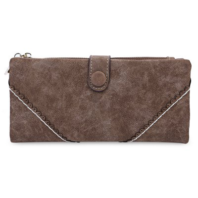 Lady V  Pattern Lace Hasp Zipper Design Dull Polish Horizontal WalletWomens Wallets<br>Lady V  Pattern Lace Hasp Zipper Design Dull Polish Horizontal Wallet<br><br>Wallets Type: Clutch Wallets<br>Gender: For Women<br>Style: Fashion<br>Closure Type: Zipper&amp;Hasp<br>Pattern Type: Solid<br>Main Material: PU Leather<br>Interior: Interior Slot Pocket<br>Embellishment: Lace<br>Height: 9 cm / 3.54 inch<br>Width: 3.5 cm / 1.38 inch<br>Length(CM): 18.5 cm / 7.28 inch<br>Weight: 0.168kg<br>Package Contents: 1 x Wallet