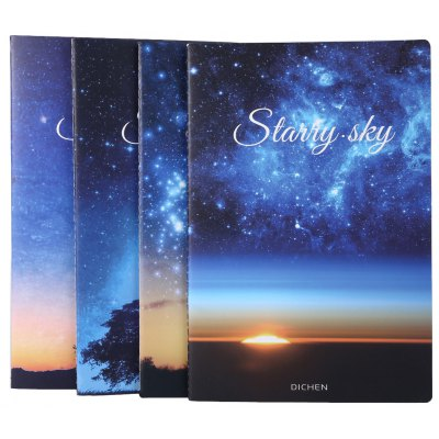 4pcs Color A5 Paper Notebook