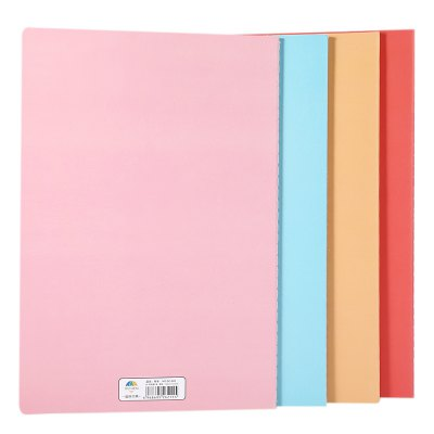 4pcs Color A5 Paper NotebookNotebooks &amp; Pads<br>4pcs Color A5 Paper Notebook<br><br>Product weight: 0.285 kg<br>Package weight: 0.306 kg<br>Package Size(L x W x H): 21.00 x 15.00 x 2.00 cm / 8.27 x 5.91 x 0.79 inches<br>Package Contents: 4 x A5 Notebook