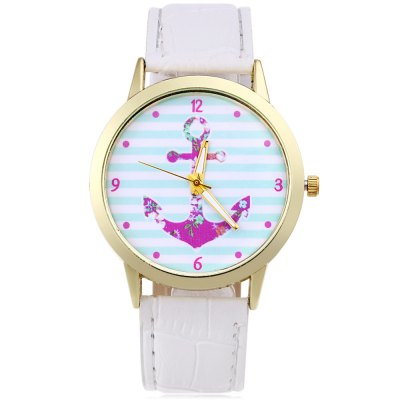 Unisex Anchor Pattern Quartz WatchUnisex Watches<br>Unisex Anchor Pattern Quartz Watch<br><br>Band Length: 7.87<br>Band Length Unit: inch<br>Band Material Type: Leather<br>Band Width: 20mm<br>Case material: Alloy<br>Case Shape: Round<br>Clasp type: Pin Clasp<br>Dial Diameter: 1.5<br>Dial Diameter Unit: inch<br>Dial Display: Analog<br>Dial Material Type: Alloy<br>Dial Window Material Type: Glass<br>Feature: Luminous<br>Gender: Men,Women<br>Movement: Quartz<br>Style: Simple<br>Product weight: 0.026 kg<br>Package weight: 0.048 kg<br>Product Size(L x W x H): 24.00 x 4.20 x 0.60 cm / 9.45 x 1.65 x 0.24 inches<br>Package Size(L x W x H): 25.00 x 5.20 x 1.60 cm / 9.84 x 2.05 x 0.63 inches<br>Package Contents: 1 x Unisex Quartz Watch