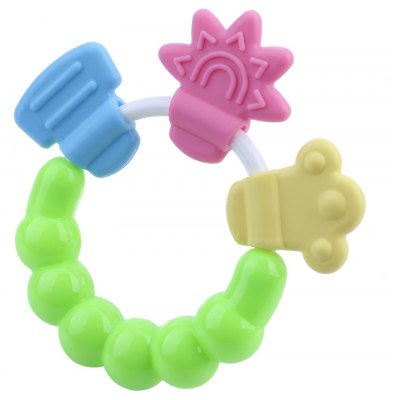 Babies Training Tooth Bell Toys Massager Teether