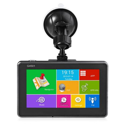 G4501 4.5 Inch Android Tablet GPS Car DVR