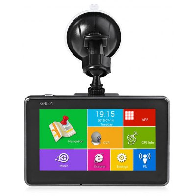 G4501 4.5 Inch Android GPS Navigation DVR