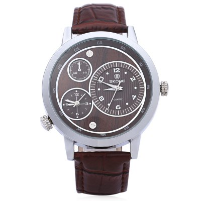 SKONE 9417EG Men Business Quartz Wrist WatchMens Watches<br>SKONE 9417EG Men Business Quartz Wrist Watch<br><br>Band Length: 9.6<br>Band Length Unit: inch<br>Band Material Type: Leather<br>Band Width: 0.8<br>Case material: Alloy<br>Case Shape: Round<br>Dial Diameter: 1.7<br>Dial Diameter Unit: inch<br>Dial Display: Analog<br>Dial Window Material Type: Glass<br>Feature: None<br>Gender: Men<br>Movement: Quartz<br>Style: Business,Fashion &amp; Casual<br>Water Resistance Depth: 30m<br>Product weight: 0.051 kg<br>Package weight: 0.078 kg<br>Product Size(L x W x H): 24.50 x 4.50 x 0.80 cm / 9.65 x 1.77 x 0.31 inches<br>Package Size(L x W x H): 26.00 x 7.00 x 2.00 cm / 10.24 x 2.76 x 0.79 inches<br>Package Contents: 1 x Men Wrist Watch