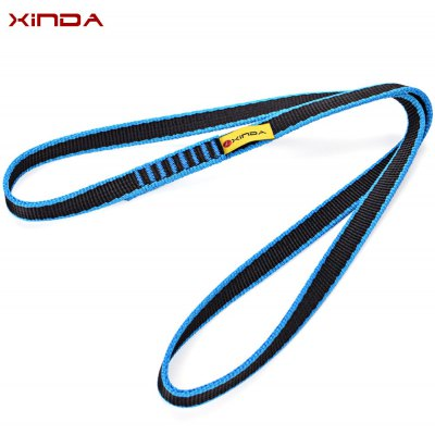 Xinda 60CM Nylon Reinforce Rope Belt Rock Climbing Sling Bearing Strap