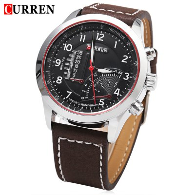 CURREN 8152 Male Quartz Watch