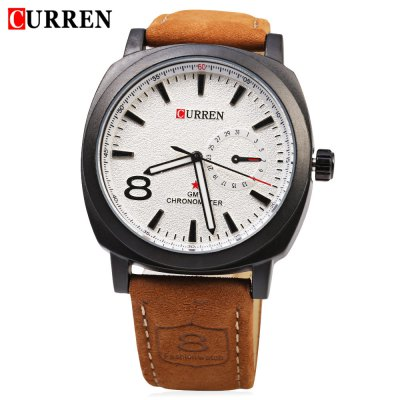 CURREN 8139 Unisex Quartz Watch Time Showed by Number and Trapezoids Leather WatchbandUnisex Watches<br>CURREN 8139 Unisex Quartz Watch Time Showed by Number and Trapezoids Leather Watchband<br><br>Band Length: 8.27<br>Band Length Unit: inch<br>Band Material Type: Leather<br>Band Width: 22mm<br>Case material: Alloy<br>Case Shape: Round<br>Clasp type: Pin Clasp<br>Dial Diameter: 1.65<br>Dial Diameter Unit: inch<br>Dial Display: Analog<br>Dial Window Material Type: Glass<br>Feature: Luminous<br>Gender: Men,Women<br>Movement: Quartz<br>Style: Business<br>Water Resistance Depth: 30m<br>Product weight: 0.057 kg<br>Package weight: 0.079 kg<br>Product Size(L x W x H): 25.00 x 4.50 x 1.20 cm / 9.84 x 1.77 x 0.47 inches<br>Package Size(L x W x H): 26.00 x 5.50 x 2.20 cm / 10.24 x 2.17 x 0.87 inches<br>Package Contents: 1 x CURREN 8139 Unisex Watch