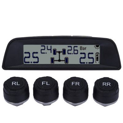 TPMS - 03W TPMS Solar Power Tire Pressure Monitoring System