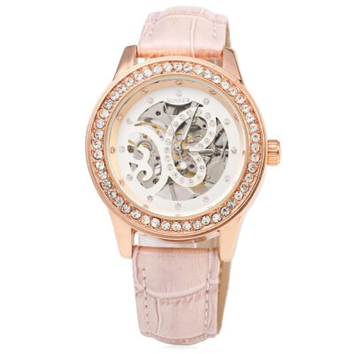 Winner F1205254 Ladies Automatic Hand-wind Movement Mechanical Wrist WatchWomens Watches<br>Winner F1205254 Ladies Automatic Hand-wind Movement Mechanical Wrist Watch<br><br>Band Length Unit: inch<br>Band Material Type: Rubber<br>Band Width: 2.1 cm / 0.83 inch<br>Band With: 10mm to 19mm<br>Boxes &amp; Cases Material: Paper<br>Case material: Stainless Steel<br>Case Shape: Round<br>Case Thickness: 8.5mm<br>Clasp type: Folding Clasp with Safety<br>Condition: New with tags<br>Dial Diameter: 3 cm / 1.18 inch<br>Dial Diameter Unit: inch<br>Dial Display: Analog<br>Dial Window Material Type: Hardlex<br>Feature: None<br>Gender: Women<br>Movement: Mechanical Hand Wind<br>Product weight: 0.054 kg<br>Package weight: 0.075 kg<br>Product Size(L x W x H): 25.00 x 4.00 x 1.00 cm / 9.84 x 1.57 x 0.39 inches<br>Package Size(L x W x H): 13.50 x 4.50 x 1.50 cm / 5.31 x 1.77 x 0.59 inches<br>Package Contents: 1 x Winner F1205254 Women Automatic Mechanical Wrist Watch