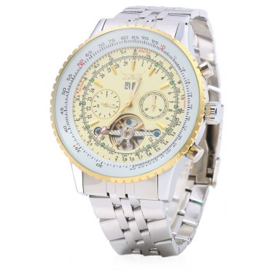 Jaragar F120506 Male Flywheel Automatic Mechanical Wrist Watch