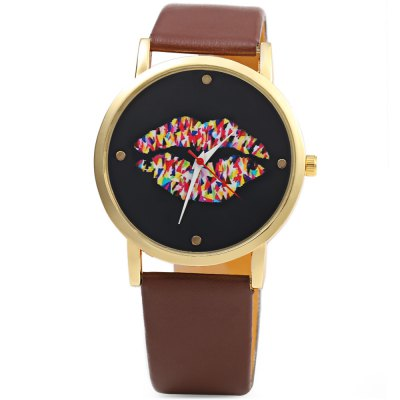 Unisex Retro Lip Pattern Quartz WatchUnisex Watches<br>Unisex Retro Lip Pattern Quartz Watch<br><br>Band Length: 7.87<br>Band Length Unit: inch<br>Band Material Type: Leather<br>Band Width: 20mm<br>Case material: Alloy<br>Case Shape: Round<br>Clasp type: Pin Clasp<br>Dial Diameter: 1.5<br>Dial Diameter Unit: inch<br>Dial Display: Analog<br>Dial Material Type: Alloy<br>Dial Window Material Type: Glass<br>Feature: None<br>Gender: Men,Women<br>Movement: Quartz<br>Style: Simple<br>Product weight: 0.025 kg<br>Package weight: 0.047 kg<br>Product Size(L x W x H): 24.50 x 4.20 x 0.60 cm / 9.65 x 1.65 x 0.24 inches<br>Package Size(L x W x H): 25.50 x 5.20 x 1.60 cm / 10.04 x 2.05 x 0.63 inches<br>Package Contents: 1 x Unisex Quartz Watch