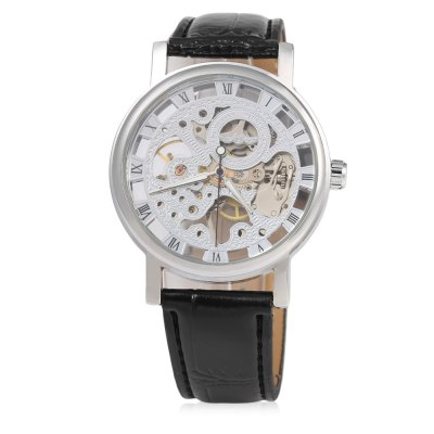 winner-f120597-unisex-automatic-mechanical-watch-leather-strap