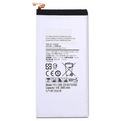 EB - BA700ABE 2600mAh Li-ion Battery Replacement for Samsung Galaxy A7 / A700 / A700FD / A700S / A700L