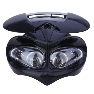 DC 12V Motorcycle Headlight Fairing Head LampMotorcycle Led Lights<br>DC 12V Motorcycle Headlight Fairing Head Lamp<br><br>Package Contents: 1 x Motorcycle Headlight, 4 x Rubber Straps<br>Package Size(L x W x H): 27.50 x 26.00 x 13.50 cm / 10.83 x 10.24 x 5.31 inches<br>Package weight: 0.472 kg<br>Product Size(L x W x H): 26.50 x 25.00 x 13.00 cm / 10.43 x 9.84 x 5.12 inches<br>Product weight: 0.365 kg