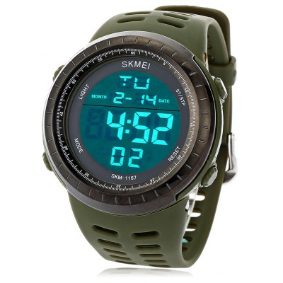 SKMEI 1167 Men LED Digital Sport Watch