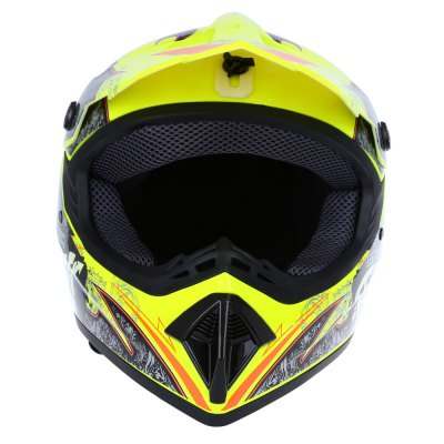 WLT - 125 Full Face Motocross Dirt Bike Racing HelmetMotorcycle Helmets<br>WLT - 125 Full Face Motocross Dirt Bike Racing Helmet<br><br>Gender: Unisex<br>Helmet Material: ABS<br>Helmet Style: Motocross<br>Package weight: 1.032 kg<br>Package Size(L x W x H): 35.00 x 26.50 x 24.00 cm / 13.78 x 10.43 x 9.45 inches<br>Package Contents: 1 x WLT - 125 Full Face Motocross Dirt Bike Racing Helmet