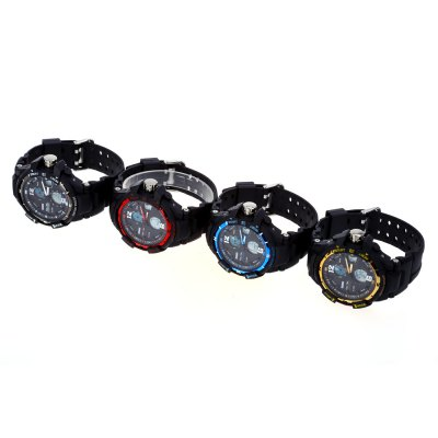 SKMEI 1148 Men LED Digital Quartz Sport WatchMens Watches<br>SKMEI 1148 Men LED Digital Quartz Sport Watch<br><br>Band Length: 7.48<br>Band Length Unit: inch<br>Band Material Type: PU<br>Case material: PC<br>Case Shape: Round<br>Clasp type: Pin buckle<br>Dial Diameter: 1.77<br>Dial Diameter Unit: inch<br>Dial Display: Analog-Digital<br>Dial Window Material Type: Glass<br>Feature: Alarm,Day,Led Display<br>Gender: Men<br>Movement: Digital,Quartz<br>Style: Sport<br>Water Resistance Depth: 30m<br>Product weight: 0.058 kg<br>Package weight: 0.079 kg<br>Product Size(L x W x H): 24.50 x 5.00 x 1.50 cm / 9.65 x 1.97 x 0.59 inches<br>Package Size(L x W x H): 25.50 x 6.00 x 2.50 cm / 10.04 x 2.36 x 0.98 inches<br>Package Contents: 1 x SKMEI 1148 Men LED Digital Quartz Sport Watch
