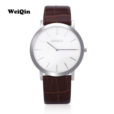 WEIQIN W2242 Men Quartz WatchMens Watches<br>WEIQIN W2242 Men Quartz Watch<br><br>Band Length: 7.87<br>Band Length Unit: inch<br>Band Material Type: Leather<br>Band Width: 18mm<br>Case material: Stainless Steel<br>Case Shape: Round<br>Clasp type: Pin Clasp<br>Dial Diameter: 1.5<br>Dial Diameter Unit: inch<br>Dial Display: Analog<br>Dial Window Material Type: Sapphire<br>Gender: Men<br>Movement: Quartz<br>Style: Business<br>Water Resistance Depth: 30m<br>Product weight: 0.036 kg<br>Package weight: 0.063 kg<br>Product Size(L x W x H): 24.00 x 4.00 x 0.50 cm / 9.45 x 1.57 x 0.2 inches<br>Package Size(L x W x H): 25.00 x 5.00 x 1.50 cm / 9.84 x 1.97 x 0.59 inches<br>Package Contents: 1 x WEIQIN W2242 Men Quartz Watch