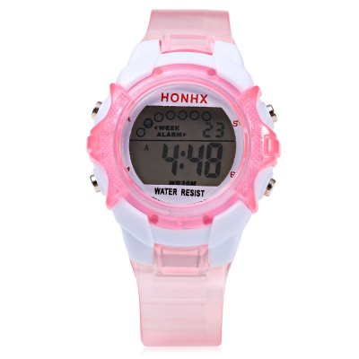 HONHX 62B Sports Children LED Digital Wristwatch