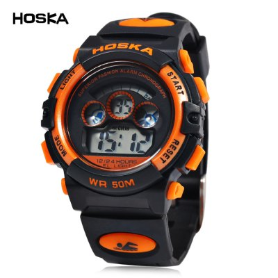 HOSKA H001S Children LED Digital Watch
